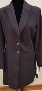 NWT Signature by Larry Levine Brown Blazer